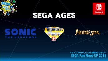 [Act.] Sonic the Hedgehog y Thunder Force IV de SEGA Ages llegan a Switch en agosto