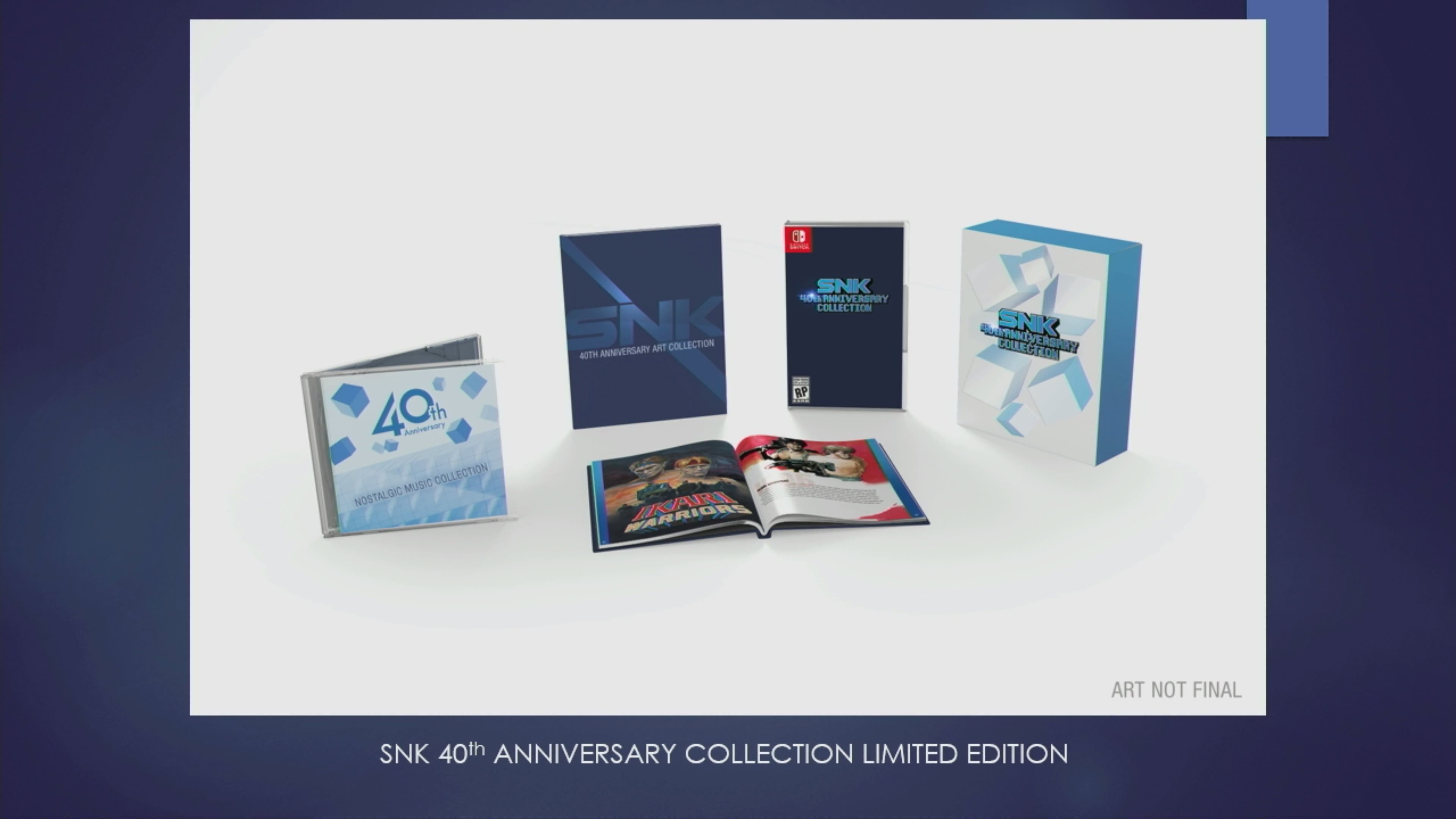 [Act.] Anunciado SNK 40th Anniversary Collection, que llegará a Switch en otoño