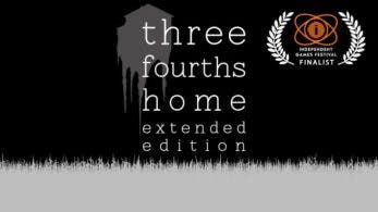 [Act.] Three Fourths Home: Extended Edition llega a Switch en mayo
