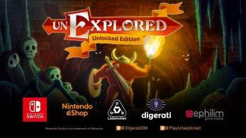 Unexplored: Unlocked Edition confirma su lanzamiento en Nintendo Switch