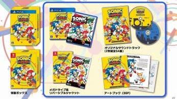 Estas son las melodías incluidas en la banda sonora de la edición física japonesa de Sonic Mania Plus