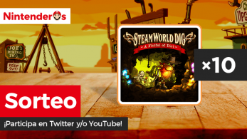 [Act.] ¡Sorteamos 10 copias digitales de SteamWorld Dig para Switch en Twitter y YouTube!