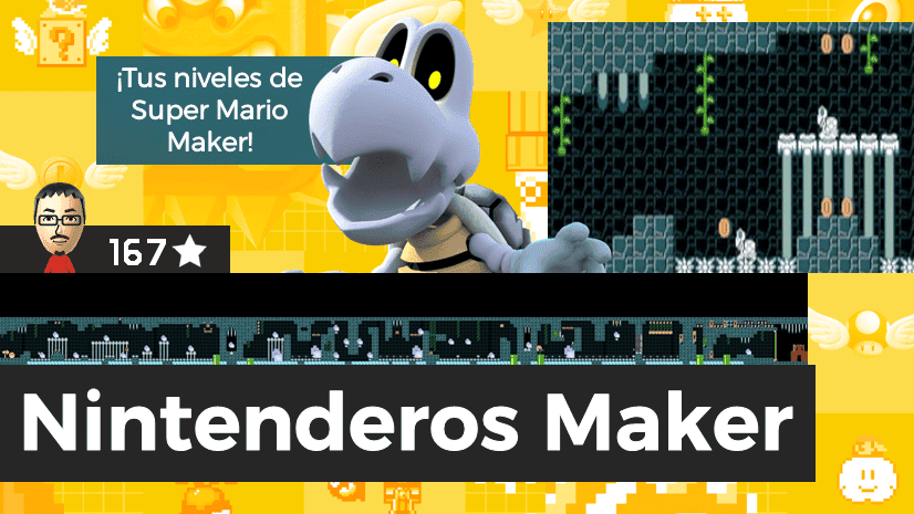 Nintenderos Maker #101: Dry Bones Cave [Optional Coins]