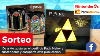 [Act.] ¡Sorteamos esta lámpara y esta taza de The Legend of Zelda junto a Pack Maker!