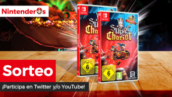 [Act.] ¡Sorteamos 2 copias físicas de Super Chariot para Switch junto a Meridiem Games!