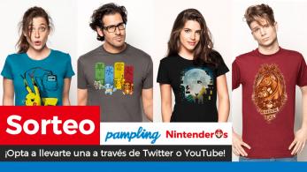 [Act.] ¡Sorteamos 4 camisetas con diseño a elegir junto a Pampling!