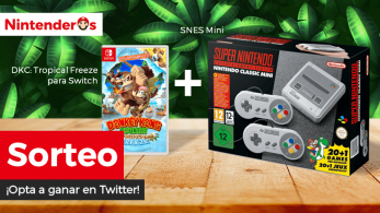 [Act.] ¡Sorteamos un Donkey Kong Country: Tropical Freeze para Switch y una SNES Mini!