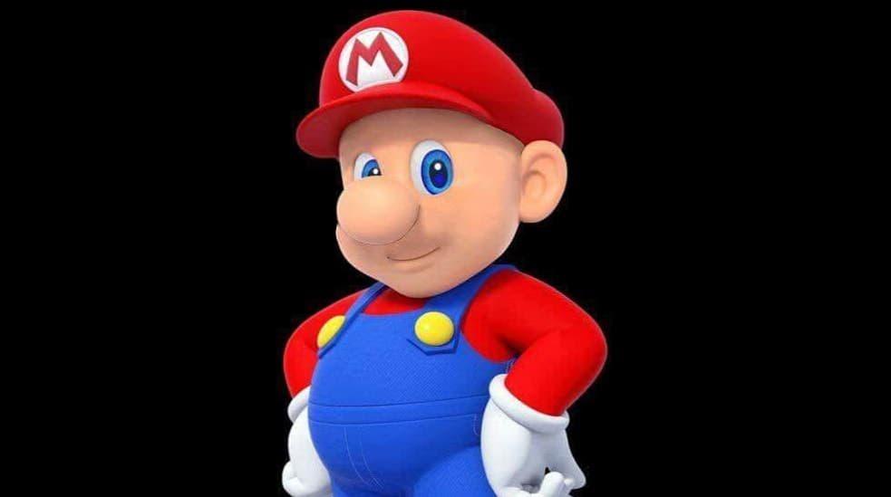 Esta es la perturbadora imagen de Mario afeitado que se ha hecho viral