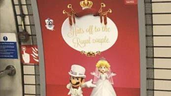 Nintendo UK felicita al príncipe Harry de Inglaterra y Meghan Markle por su boda con este anuncio de Super Mario Odyssey