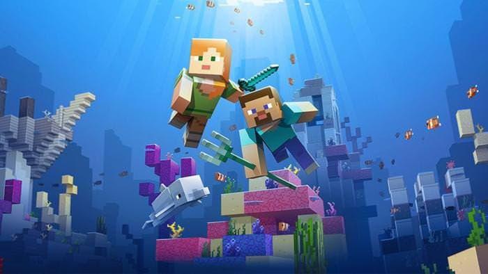 Detallada la primera fase de la Update Aquatic de Minecraft