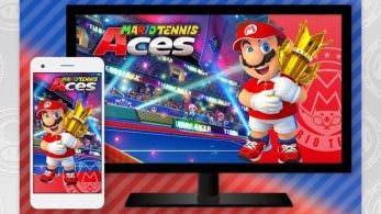 Europa: Reserva Mario Tennis Aces en la eShop y obtén el doble de Puntos de oro de My Nintendo