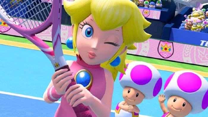 Peach y Bowser se enfrentan en este nuevo gameplay de Mario Tennis Aces