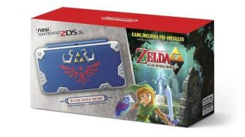 Nintendo of America desvela la New 2DS XL Hylian Shield Edition