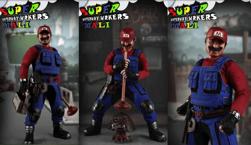 Así es 'Super Mali', una nueva y escalofriante figura inspirada en Super Mario