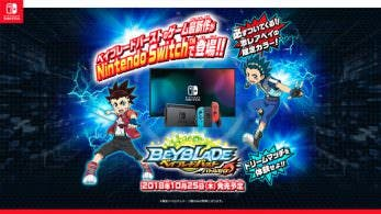 Anunciado Beyblade Burst: Battle Zero para Nintendo Switch