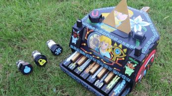 Contempla el proceso de creación de este piano de Nintendo Labo con motivos de The Legend of Zelda: Breath of the Wild