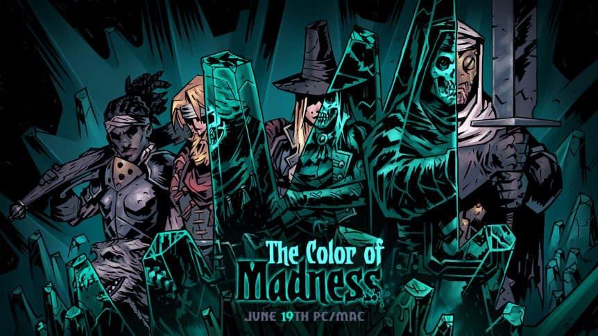 El DLCThe Color of Madness de Darkest Dungeon llegará a Nintendo Switch