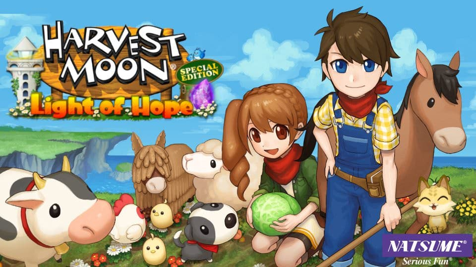 Detallados los DLC y el Pase de temporada de Harvest Moon: Light of Hope Special Edition