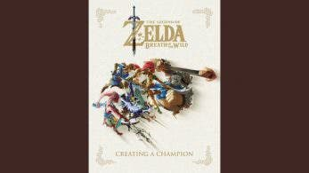 Portada del libro Zelda: Breath of the Wild – Creating a Champion y reserva con descuento en Amazon