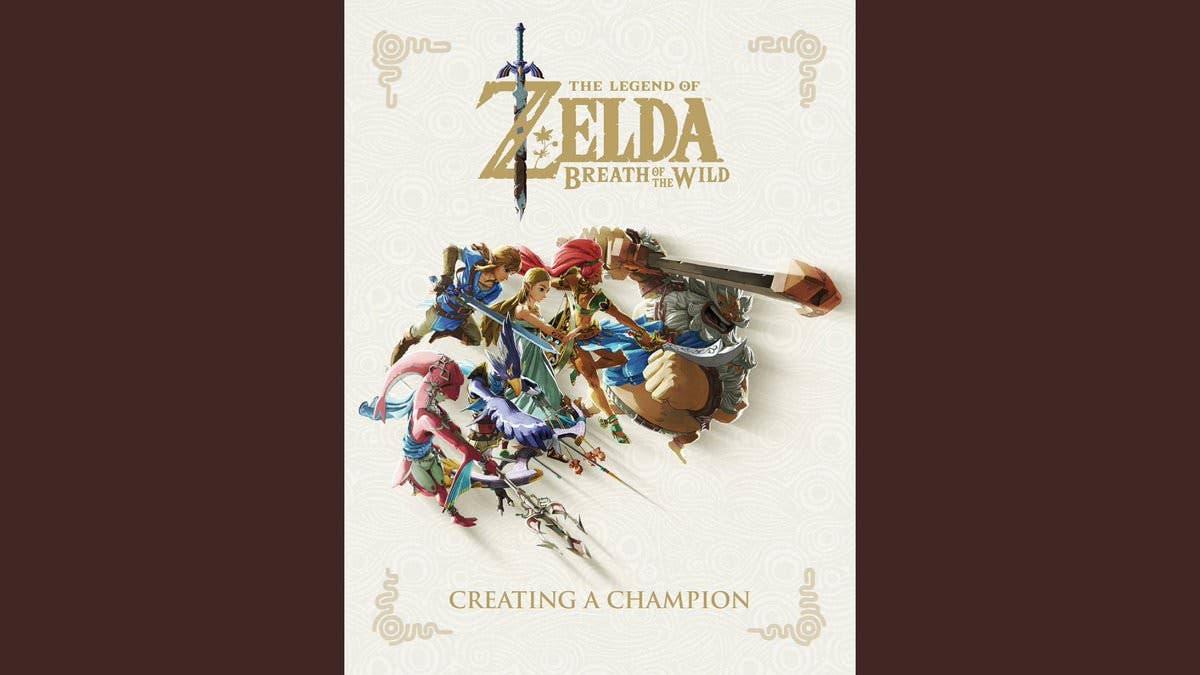 Portada del libro Zelda: Breath of the Wild – Creating a Champion y reserva con descuento en Amazon