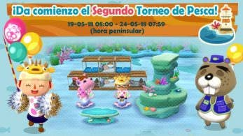 Animal Crossing: Pocket Camp recibe el segundo Torneo de Pesca