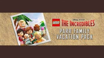 LEGO Los Increíbles: Tamaño de la descarga y precarga disponible con el Parr Family Vacation Pack de regalo