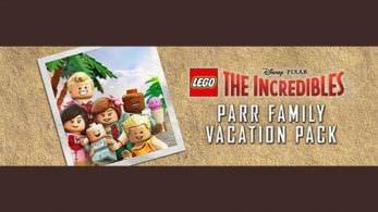 LEGO Los Increíbles: Tamaño de la descarga y precarga disponible con el Parr Family Vacation Pack de regalo
