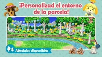Animal Crossing: Pocket Camp recibe el terreno de abedules