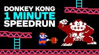 Un speedrunner consigue superar el Donkey Kong original en un minuto y dos segundos