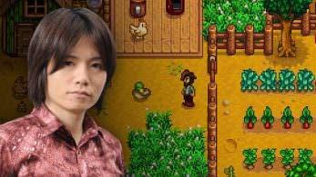Sakurai reconoce estar enganchado a Stardew Valley para Switch