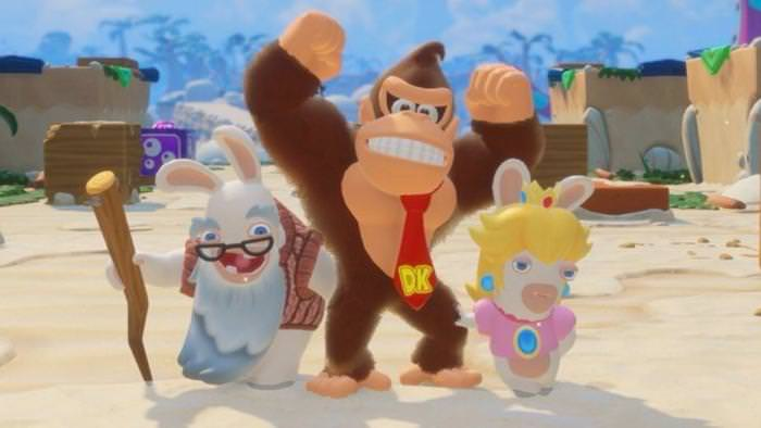 No te pierdas la cinemática de introducción de Mario + Rabbids Kingdom Battle: DK Adventure