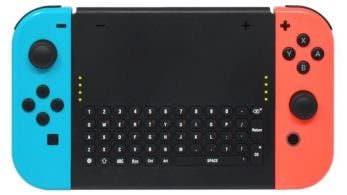 Ya está disponible este soporte con teclado para Joy-Con de Nintendo Switch