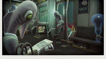 Nueva imágen de la Octo Expansion de Splatoon 2 centrada de nuevo en los pasajeros del Metro Abisal