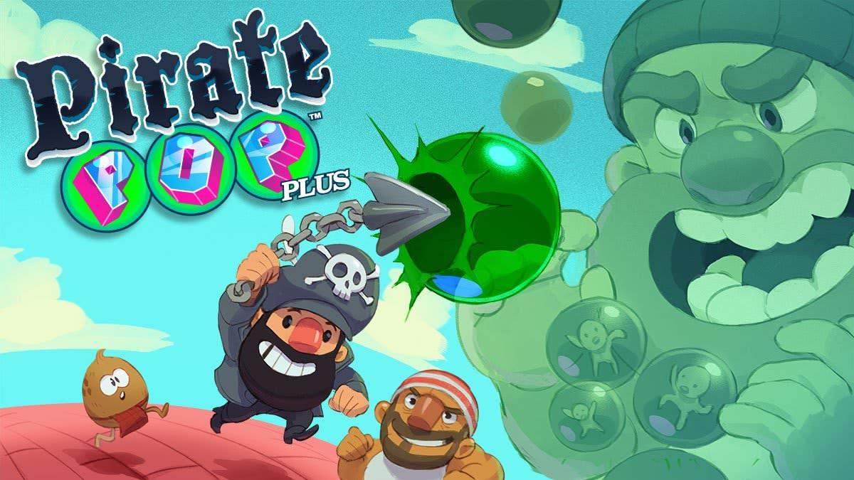 Pirate Pop Plus se estrena en Nintendo Switch el 31 de mayo