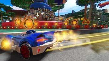 Walmart lista Team Sonic Racing para Nintendo Switch y comparte su boxart y sus primeras capturas