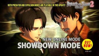 Attack on Titan 2 recibe el nuevo Showdown Mode