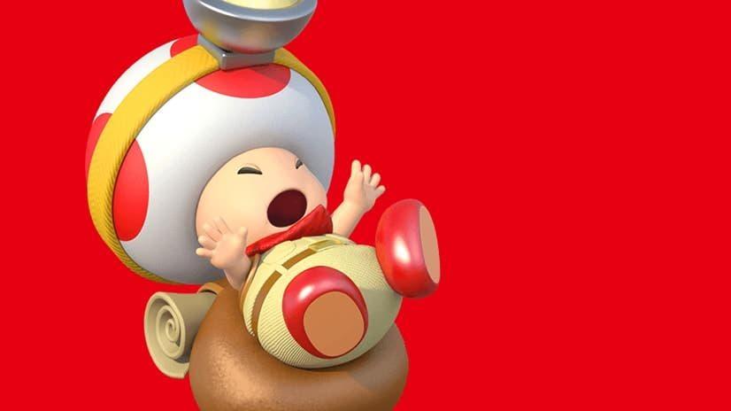 La animación de Captain Toad:Treasure Tracker que no parece encajar en Nintendo Switch