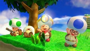 Estas imágenes comparan cómo luce Captain Toad: Treasure Tracker en 3DS y Switch