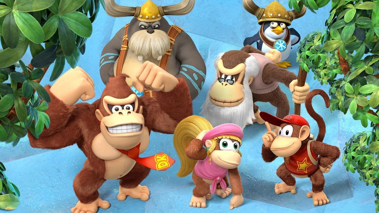 Retro Studios se ha encargado del port de Donkey Kong Country: Tropical Freeze para Switch