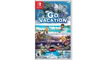 Go Vacation para Nintendo Switch: Reserva disponible, boxart americano y precio