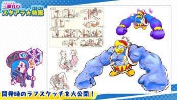 Nintendo y HAL Laboratory comparten nuevos artes de Kirby Star Allies centrados en Rey Dedede