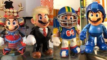 No te pierdas estos geniales Mario samurái, Donald Trump, Mega Man y más creados por un fan