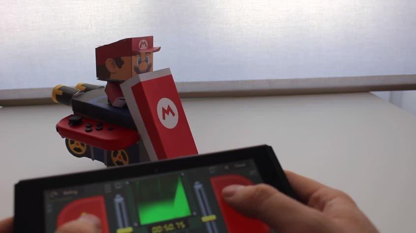 Crea tu kart de Mario Kart teledirigido con Nintendo Labo