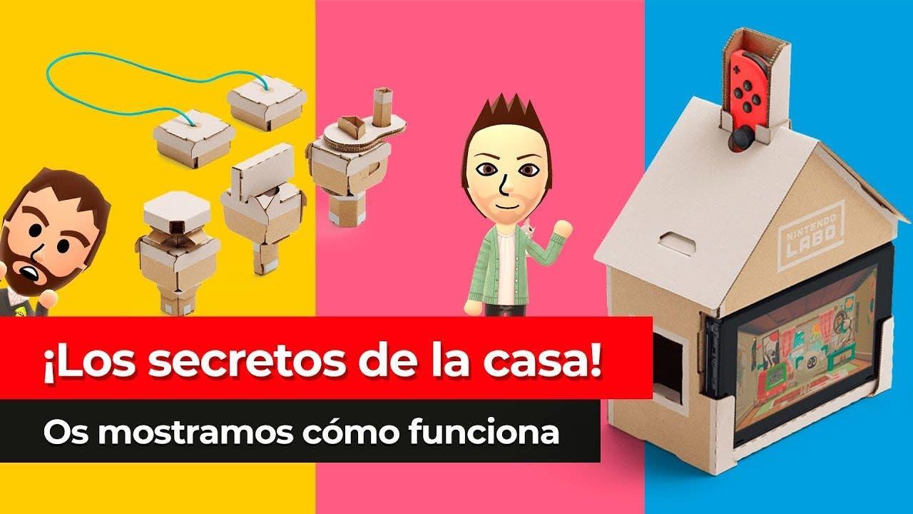 [Vídeo] Los secretos de la casa: Así funciona el Toy-con de Nintendo Labo