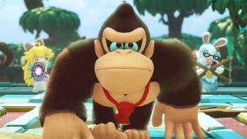 Escucha este guiño a Donkey Kong 64 presente en el DLC Donkey Kong Adventure de Mario + Rabbids
