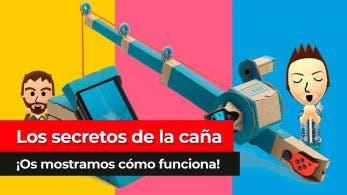 [Vídeo] Los secretos de la caña: Así funciona el Toy-con de Nintendo Labo