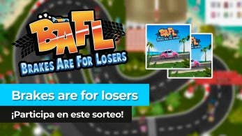 ¡Sorteamos 2 copias de BAFL: Brakes Are For Losers para Nintendo Switch en YouTube!