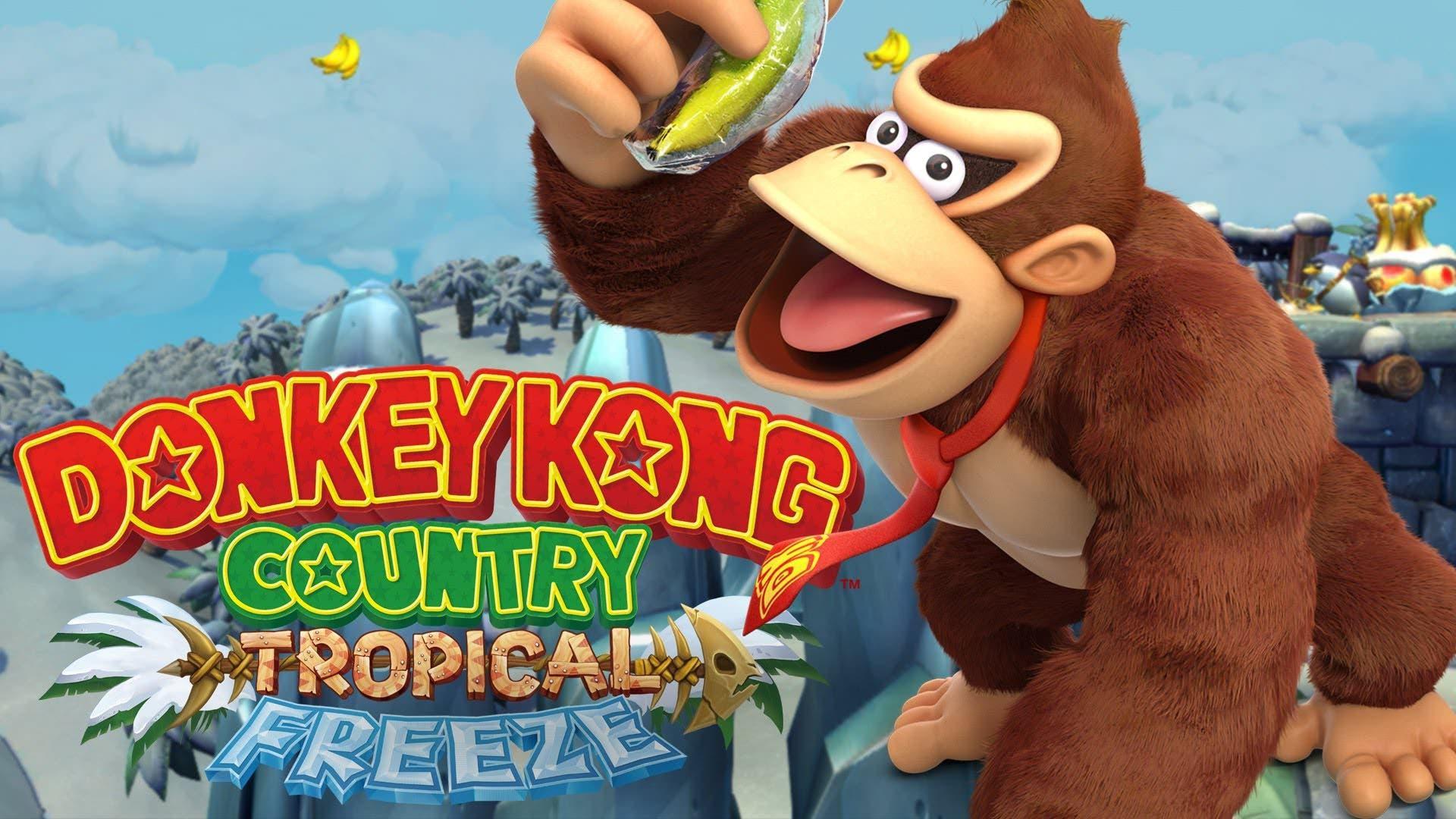 Ventas de la semana en Reino Unido: Donkey Kong Country: Tropical Freeze se mantiene como el juego más vendido de Nintendo (12/5/18)