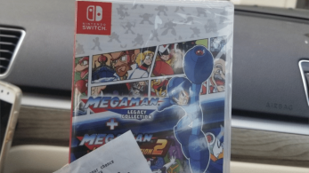 Mega Man Legacy Collection 1 + 2 para Switch parece haber retirado el letrero blanco de su portada