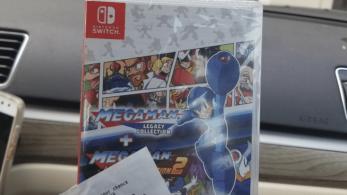 Mega Man Legacy Collection 1 + 2 para Switch parece haber retirado el letrero blanco de su portada